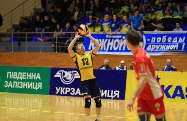 «Локомотив» снова первый после первого этапа волейбол, мужчины, суперлига, украина
