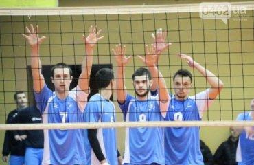 «Химпром» снова оказался сильнее волейбол, мужчины, суперлига, украина