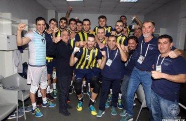 Фенербахче остался вторым после победы над действующими чемпионами Аркас, Фенербахче, волейбол, мужчины