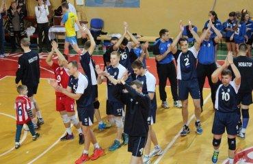 Найдовша партія в сезоні та стовідсотковий результат хмельничан волейбол, мужчины, высшая лига