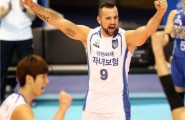 Трансляция матча чемпионата Южной Кореи – 14.03 12:00 трансляция, волейбол, корея