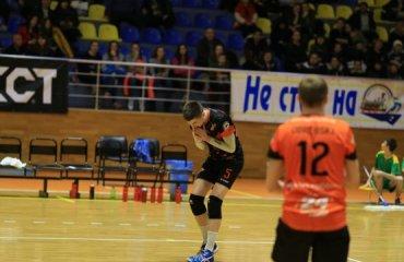 «Кажани» сильніші за «Юракадемію» волейбол, мужчины, суперлига, украина