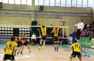 Суперлига Украины. Тройки сильнейших начинают борьбу волейбол, мужчины, суперлига
