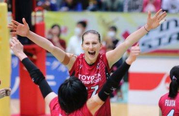 """Полина Рагимова: """"Все команды в Японии защищаются очень хорошо"""" Полина Рагимова, волейбол, женщины"""