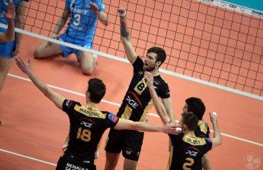 «Зенит» прервал победную серию волейбол, мужчины, лига чемпионов