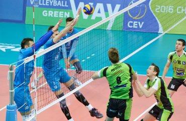 «Факел» оказал «Префаксису» горячий сибирский приём волейбол, мужчины, еврокубки, кубок екв