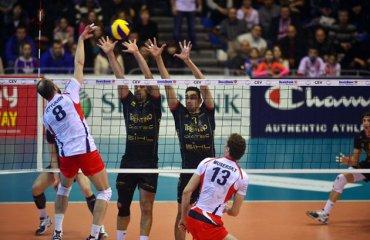 «Белогорье» и «Трентино» снова спорят за выход в «Финал четырех» Лиги чемпионов Белогорье, Трентино