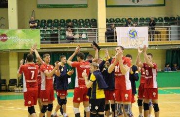 Непростая победа «Локомотива» волейбол, мужчины, суперлига