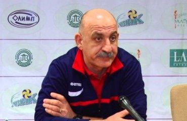 Гарій Єгiазаров: «Фактор №1 нашої перемоги в чемпіонаті – здоров'я гравців» волейбол, женщины, суперлига