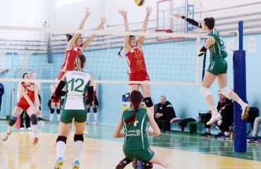 «Химик»: вторая победа в первом финальном туре волейбол, женщины, суперлига