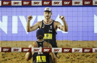 Трансляція півфінальних матчів VITORIA OPEN 2016 VITORIA OPEN 2016, пляжний волейбол, бразилія