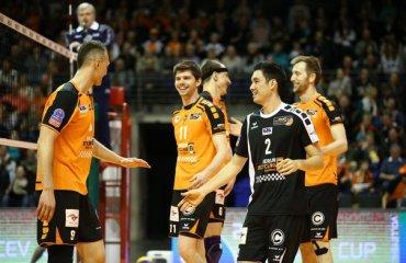 «Берлин» стал соперником «Газпрома-Югра» по финалу Кубка ЕКВ волейбол, мужчины, еврокубки, кубок екв