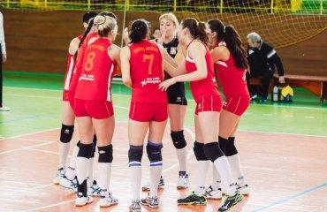 Третье поражение «Северодончанки» волейбол, женщины, суперлига