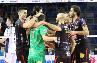 Хуанторена и Милькович благодаря своей результативной игре помогли Мачерате пройти Латину Мачерата, Латина, Модена, Падова