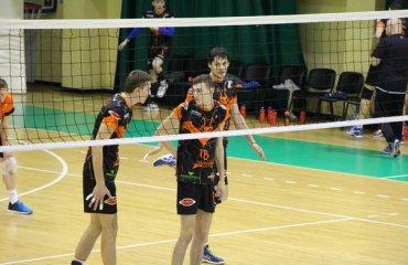 Львовянам «Химпром» также проиграл в трех партиях волейбол, мужчины, суперлига