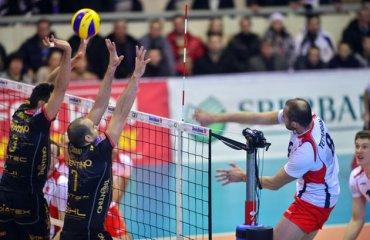 «Белогорье» — «Трентино»: Решающая битва волейбол, мужчины, лига чемпионов