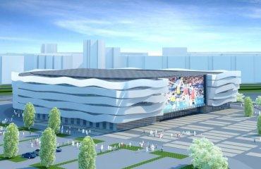"""Строительство арены для волейбольного клуба """"Белогорье"""" за 4 млрд будет приостановлено Белогорье"""