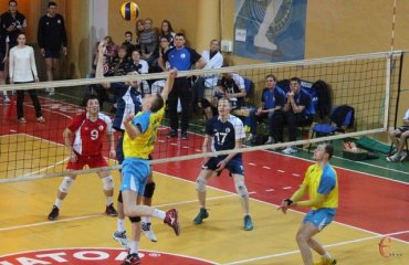 Высшая лига Украины. Финальный тур в Харькове волейбол, мужчины, высшая лига, украина