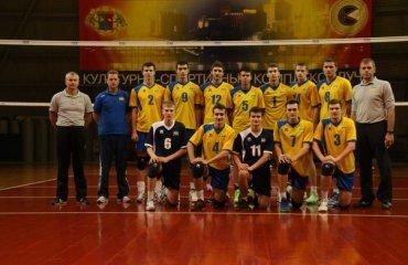 Українська «молодіжка» розпочала збір у Харкові волейбол, мужчины, украина