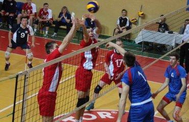 Высшая лига Украины. Первый день финального раунда волейбол, мужчины, высшая лига, украина