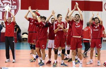 Олимпиакос снова совершил невероятный камбэк против Паока Олимпиакос (Пирей), ПАОК (Салоники), волейбол, мужчины