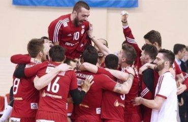 Олимпиакос выигрывает национальный кубок в пятнадцатый раз в истории Олимпиакос (Пирей), Кифиссия, волейбол, мужчины