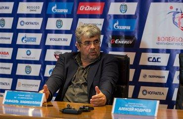 Рафаэль Хабибуллин: «У нас впереди поездка в Новокуйбышевск, с «Берлином» будет играть резерв» волейбол, мужчины, еврокубки, кубок екв