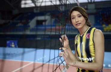 Твиттер интервью доигровщицы Фенербахче участника финала четырех Лиги Чемпинонов Ким Юн Кун