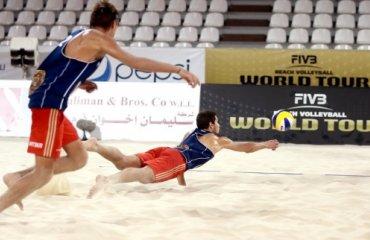 Fivb World Tour, 5-8 апреля. Qatar Open пляжный волейбол, мужчины