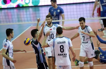 Трансляция матча «Halkbank» - «Arkas Spor» волейбол, мужчины, турция, трансляция