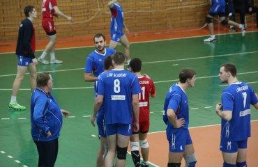 Харьковские Локомотив и Юракадемия добиваются побед волейбол, мужчины, суперлига, украина