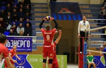 «Локомотив» оформил две сухие победы волейбол, мужчины, суперлига, украина