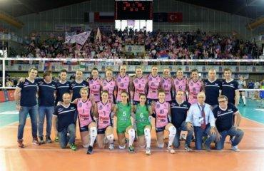 «Поми Казальмаджоре» победил в женской Лиге чемпионов волейбол, женщины, лига чемпионов