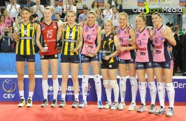 Пиччинини признана MVP «Финала четырёх» женской Лиги чемпионов Пиччинини