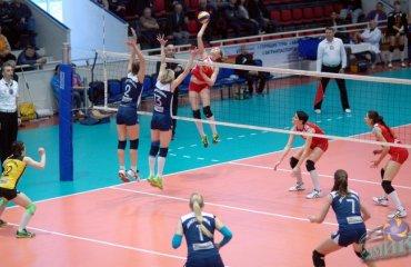 Первая победа «Северодончанки» волейбол, женщины, суперлига, украина