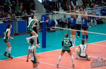 «Химик» уступил лидерство «Орбите» волейбол, женщины, суперлига, украина