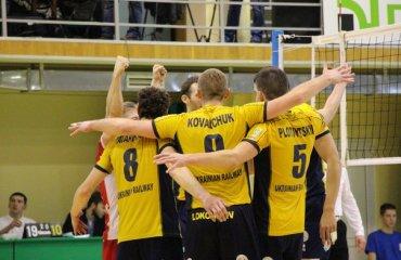 Чемпионат Украины. Участники плей-офф досрочно разобрались с местами в группах волейбол, мужчины, суперлига, украина