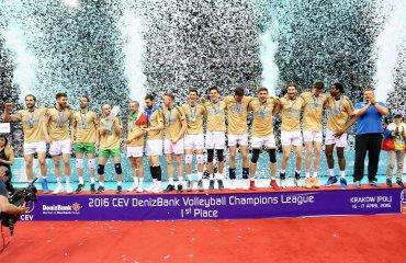 Браво, «Зенит»! Второй год подряд команда из Казани — лучший клуб Зенит, Трентино