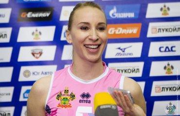 Соколова: каждый клуб в моей карьере — особенный Любовь Соколова