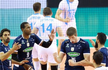 Определились три участника клубного чемпионата мира волейбол, мужчины, клубный чемпионат мира