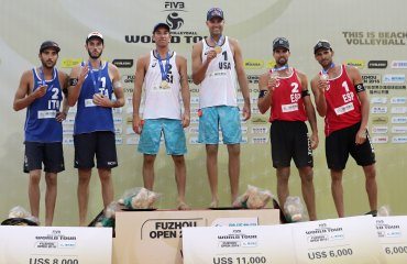 Дальхаузер и Люцена — чемпионы турнира по пляжному волейболу в Фучжоу Дальхаузер, Люцена