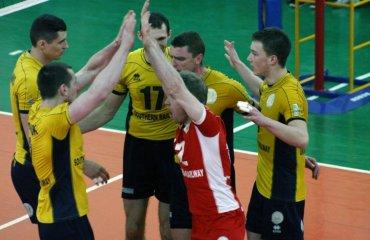 «Локомотив» выиграл первый матч у «Юракадемии» + (ФОТО) волейбол, мужчины, суперлига, украина