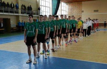 «Дніпро» здолав «Кажанiв» волейбол, мужчины, суперлига, украина