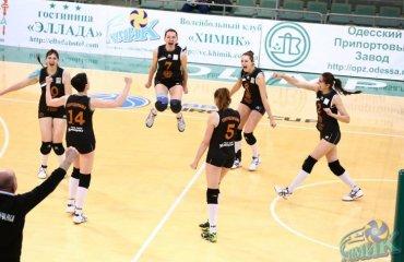 «Северодончанка» вновь обыграла «Орбиту» волейбол, женщины, суперлига, украина