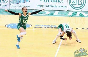 «Химик» победил «Орбиту» в ярком пятисетовом поединке волейбол, женщины, суперлига, украина