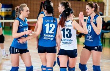 «Континiум-Волинь» дозаявив Степанюк i Молодцову волейбол, женщины, суперлига, украина