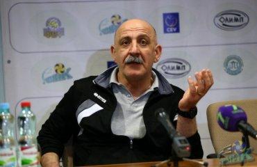 Гарий ЕГИАЗАРОВ: «Мы находимся  в очень тяжелых условиях – проблемы финансовые, проблемы в городе в отношении руководства» волейбол, женщины, суперлига, украина