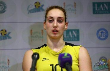 Анна ЕФРЕМЕНКО, игрок ВК «Галычанка-ТНЭУ-Викнарёв»: «Нам не хватило опыта» волейбол, женщины, суперлига, украина