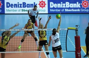 Вакифбанк легко обыграл Экзачибаши, Фенербахче победило Галатасарай Вакифбанк, Экзачибаши, Фенербахче, волейбол, женщины