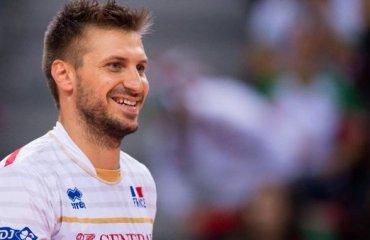 Антонин Рузье продолжит карьеру в клубе «Стамбул ББСК» волейбол, мужчины, турция